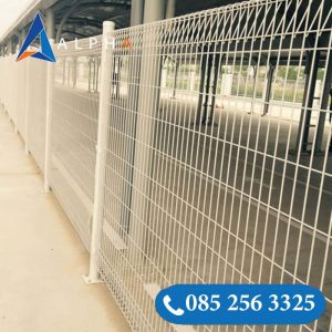 Hàng rào lưới thép gập 2 đầu