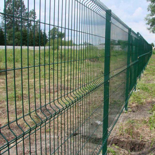 Hàng rào lưới thép hàn mạ kẽm 1