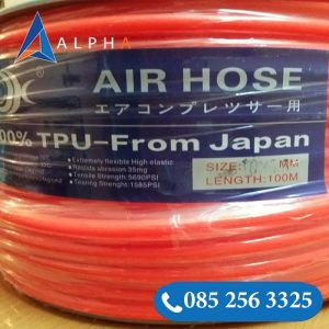 Ống hơi Japan kẻ xanh đỏ